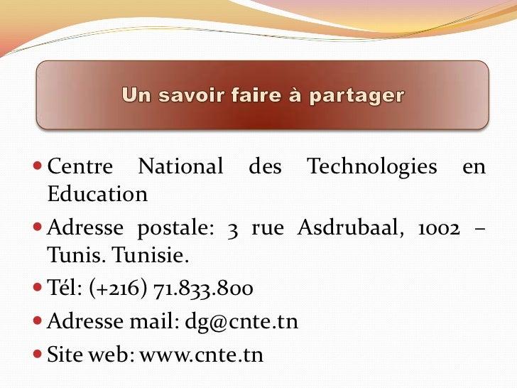 Centre National de Technologies en Education
