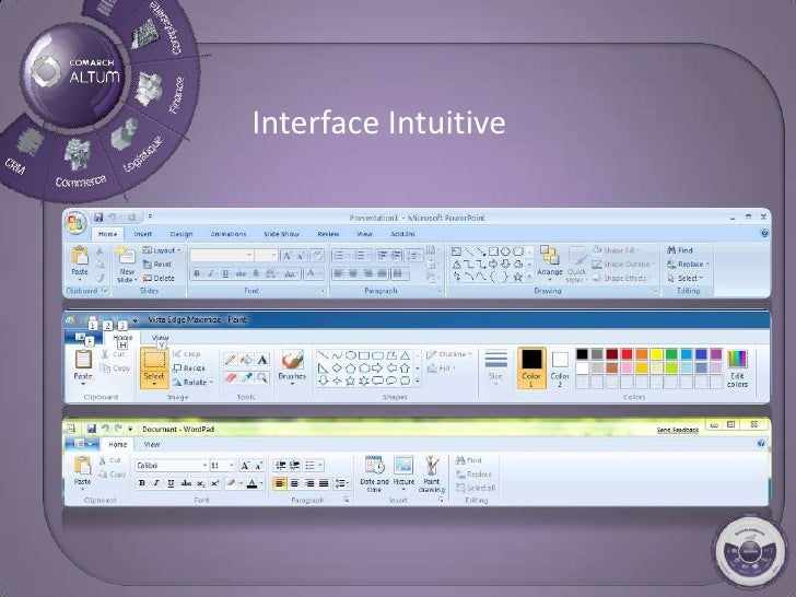 Interface Intuitive