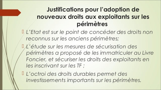 Contrat d'exploitation à l'attention des exploitants sur les périmètres irrigués au Niger Slide 3
