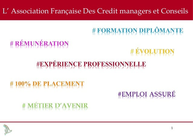 L' Association Française Des Credit managers et Conseils  1