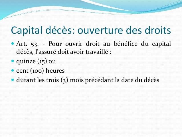 Cours D Assurances Sociales Cnas Cnr Algerie