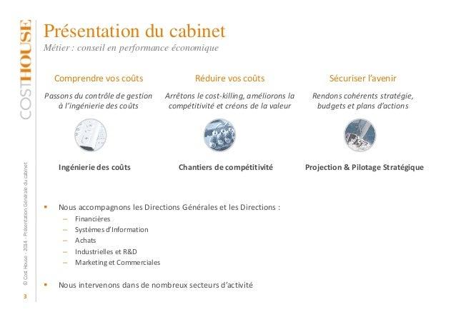 Pr sentation cost house mea - Cabinet de conseil en strategie marketing ...