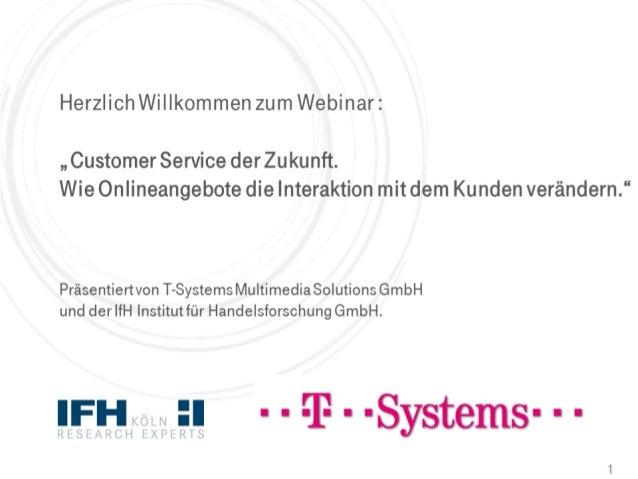Customer Service der Zukunft.