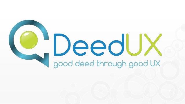 Découvrez l'ADN professionnel de  DeedUX, agence « d'online  presence management » à travers  notre vision, nos valeurs et...