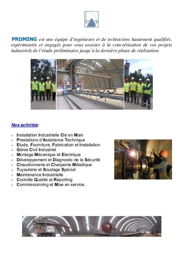 est une équipe d'ingénieurs et de techniciens hautement qualifiés,  expérimentés et engagés pour vous assister à la concré...