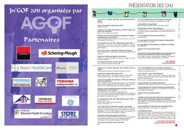 """PRÉSENTATION DES CHU  Revue pour les Internes de Gynécologie Obstétrique 11  Ŷ —‡Ž ‡•– Ž‡ '""""""""‡ †ǯ‹–‡""""‡• 'ƒ"""" '""""''–‹' ..."""