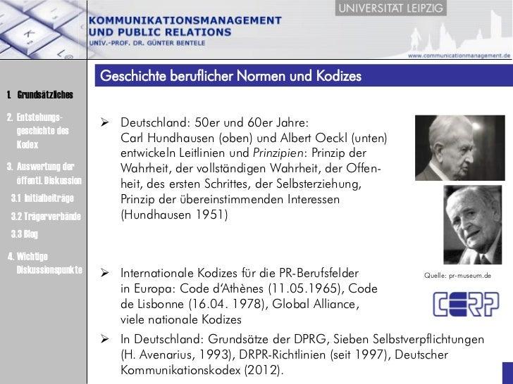 Praesentation Deutscher Kommunikationskodex (Bentele, DRPR, 19.06.12, Berlin) Slide 3