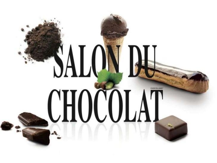 Présentation défilé salon du chocolat