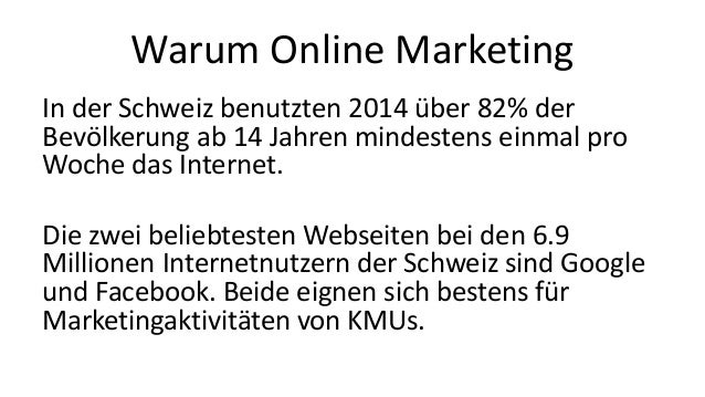 Digipave Online Marketing Agentur Schweiz (in German) Slide 2