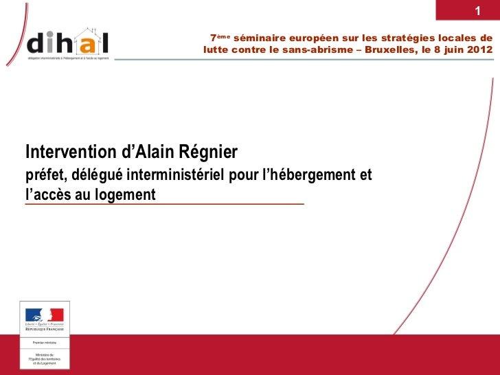 1                             7ème séminaire européen sur les stratégies locales de                           lutte contre...