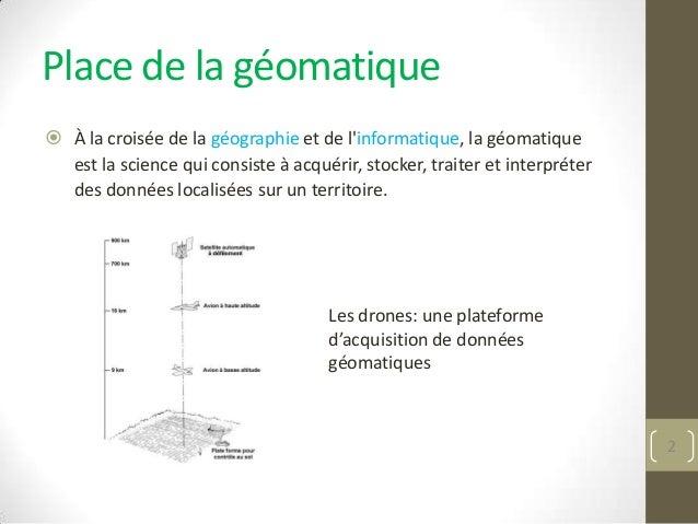 Projets de recherche à l'Université de Sherbrooke impliquant l'utilisation de la géomatique et des drones Slide 2
