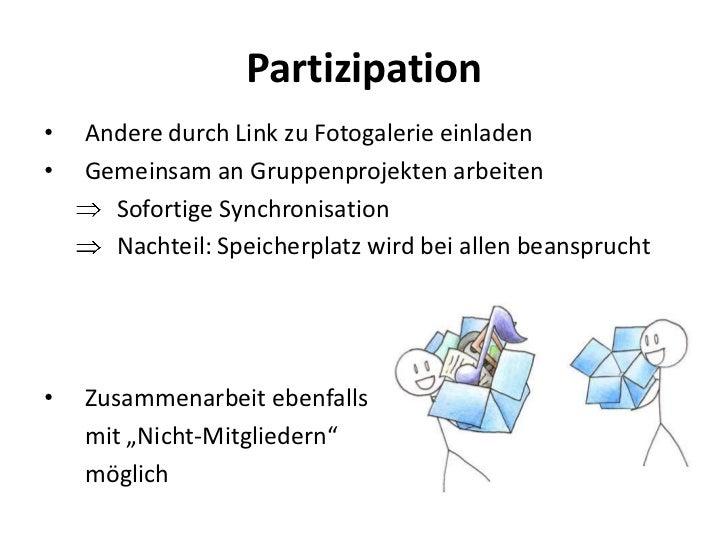 präsentation dropbox - werkzeug der dokumentation, Einladungen