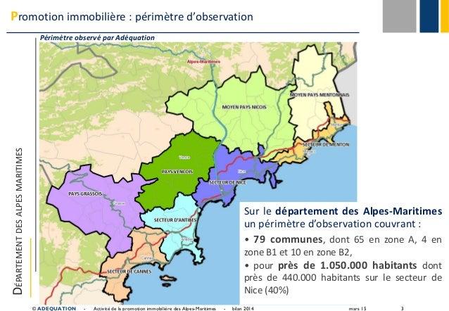 Présentation du 17/03/2015 - Alpes-Maritimes - Bilan 2014 et perspectives Slide 3