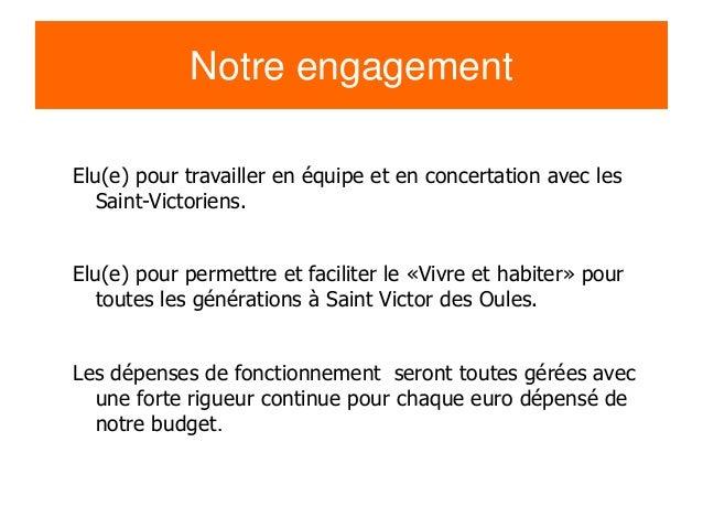Présentation campagne Saint Victor des Oules 2014 Slide 2