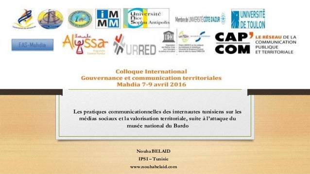 Les pratiques communicationnelles des internautes tunisiens sur les médias sociaux et la valorisation territoriale, suite ...