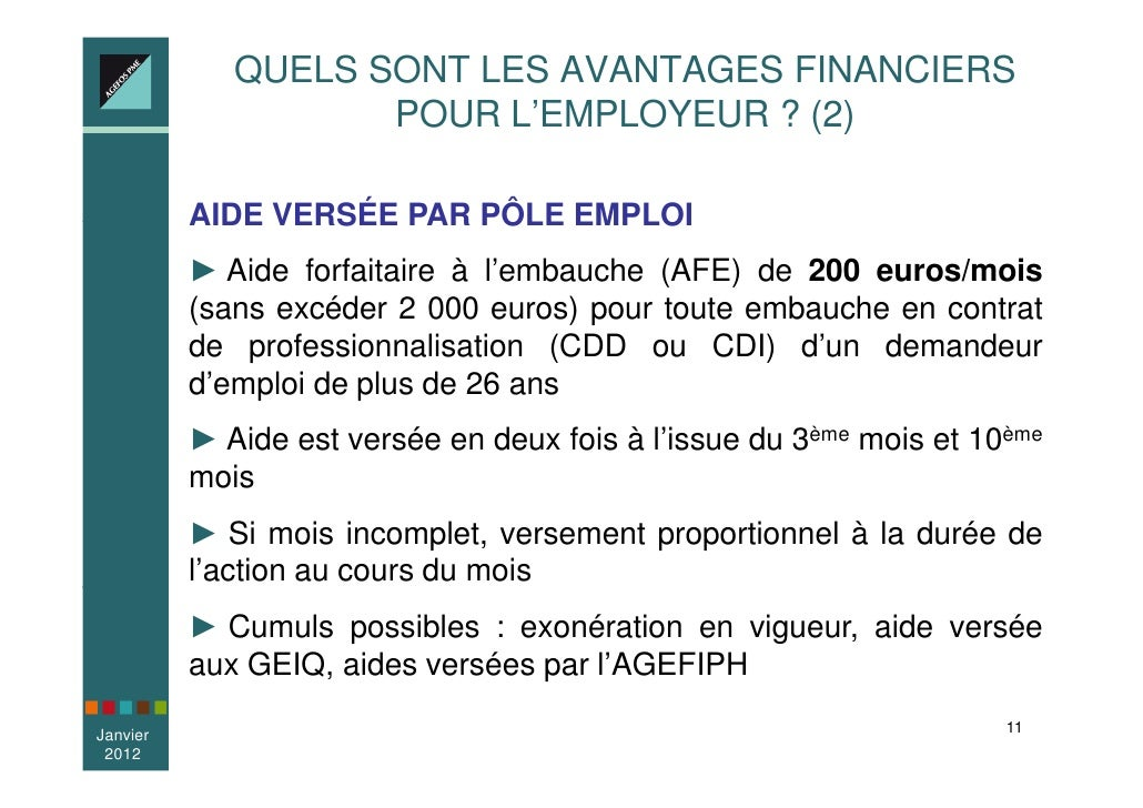 Mopa Presentation Du Contrat De Professionnalisation