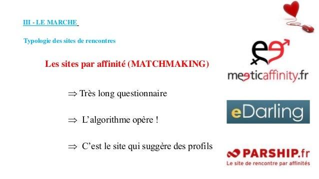 Site de rencontre matchmaking