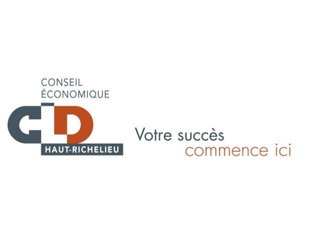Contexte• La Stratégie québécoise en entrepreneuriat du  Gouvernement du Québec demande au CLD  de desservir l'ensemble de...
