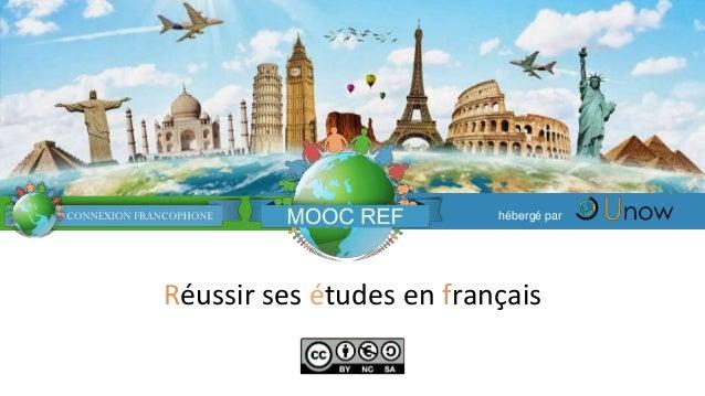 Réussir ses études en français hébergé par