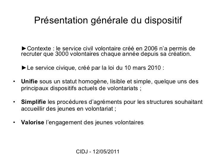 Présentation du service civique - réseau information jeunesse Val d'Oise Slide 2