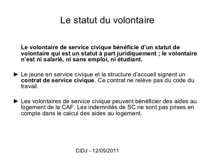 Caf Aide Logement Service Civique