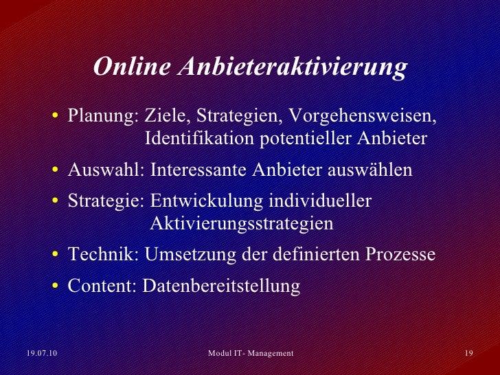 Präsentation E-Marketplace