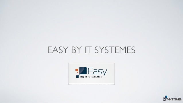 EASY BY IT SYSTEMES