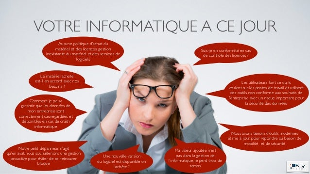 "L'infogérance ""Easy by IT""  Slide 3"