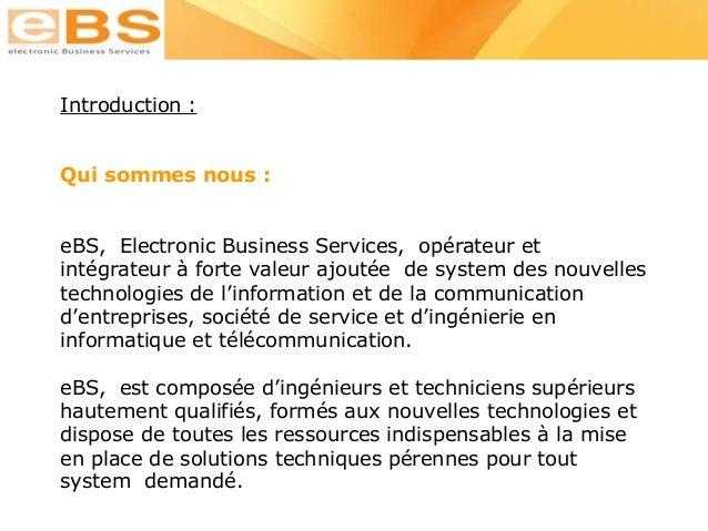 Présentation e bs hosting Slide 3