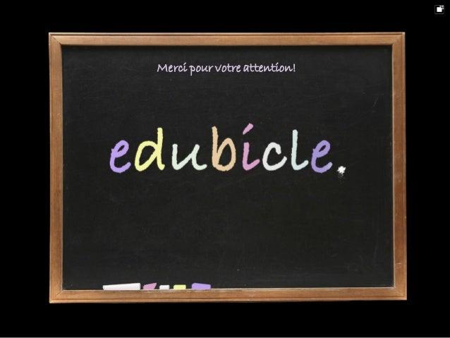 Présentation edubicle 2010