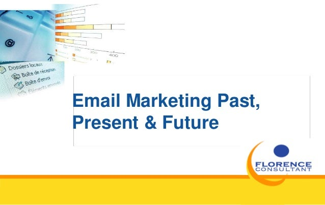 Email Marketing Past, Present & Future