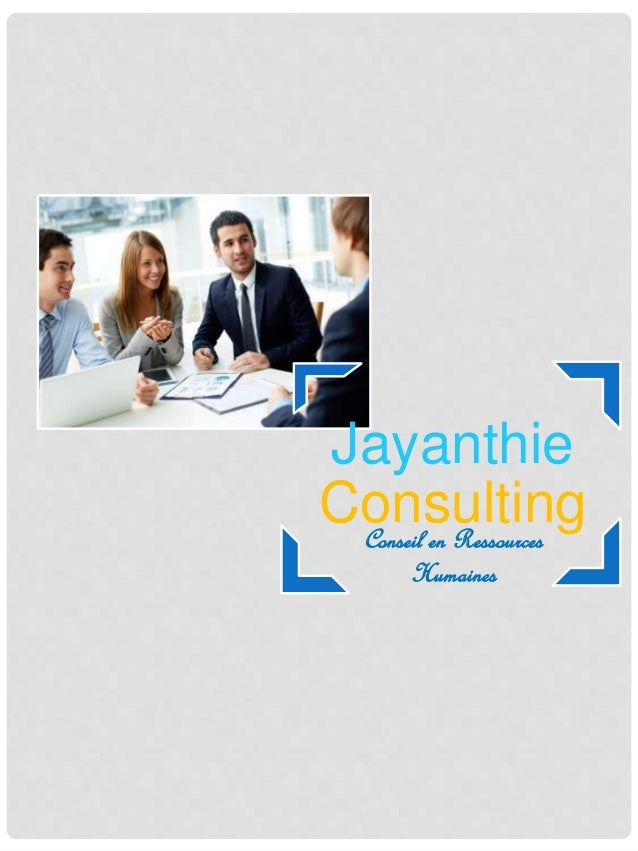 Jayanthie ConsultingConseil en Ressources Humaines