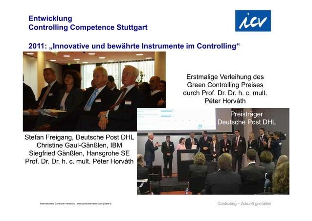 """Entwicklung Controlling Competence Stuttgart 2011: """"Innovative und bewährte Instrumente im Controlling""""                   ..."""