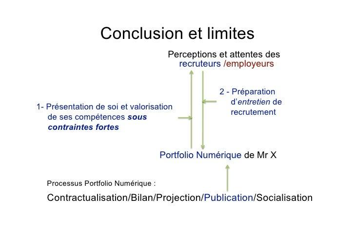 les usages du portfolio num u00e9rique en recrutement et