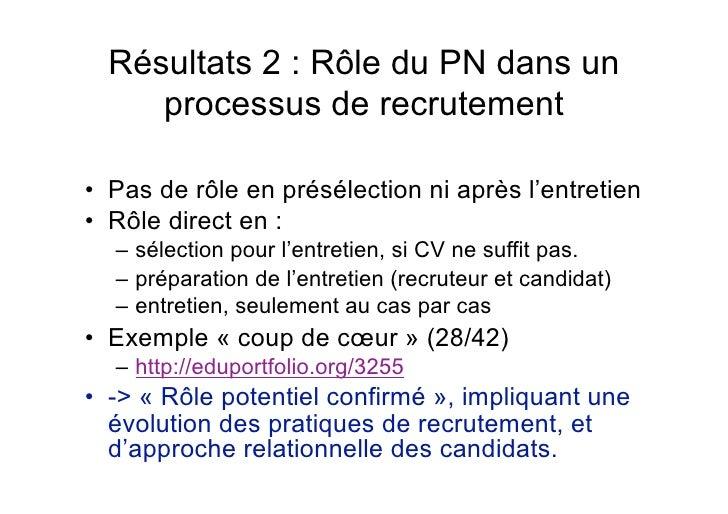 les usages du portfolio num u00e9rique en recrutement et gestion des resso u2026