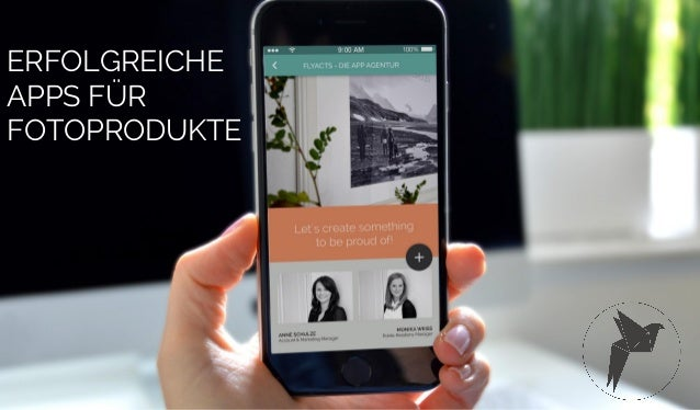 FLYACTS GmbH / erfolgreiche Apps für Fotoprodukte / 2016 ERFOLGREICHE APPS FÜR FOTOPRODUKTE