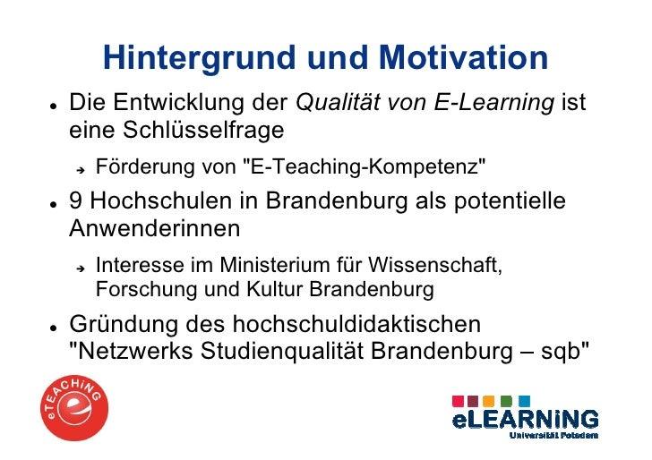 Präsentation eTEACHiNG-Programm Slide 2