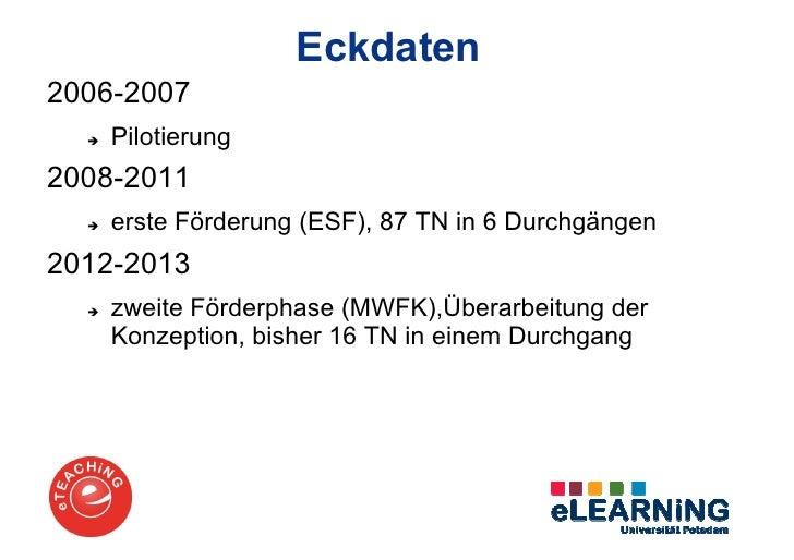 Präsentation eTEACHiNG-Programm Slide 3