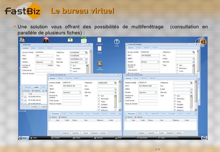 Fastbiz solutions crm et xrm en mode saas - Bureau virtuel windows 7 ...