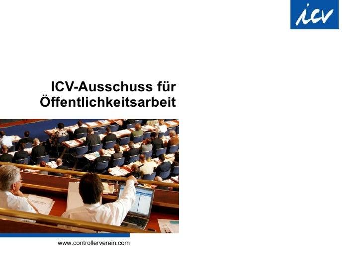 ICV-Ausschuss für Öffentlichkeitsarbeit