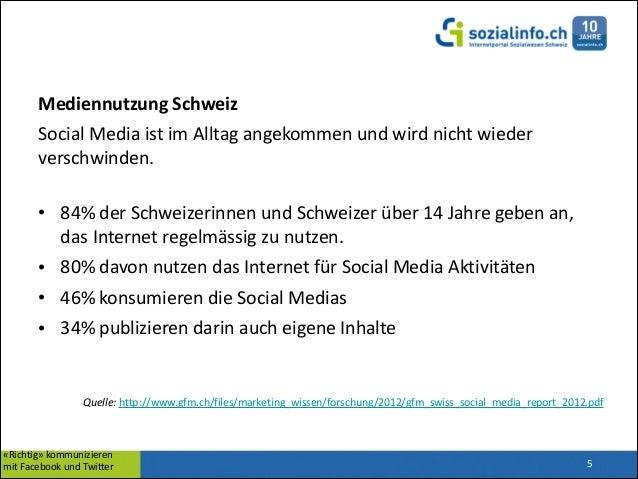 Mediennutzung  Schweiz   Social  Media  ist  im  Alltag  angekommen  und  wird  nicht  wieder   ve...