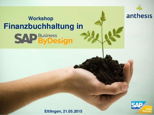 Workshop Finanzbuchhaltung in Ettlingen, 21.05.2015