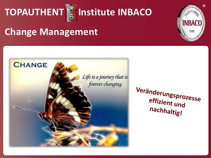 ®TOPAUTHENT   Institute INBACOChange Management