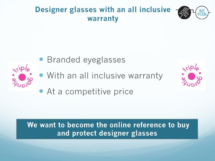 Designer glasses with an all inclusive                warranty   — Branded eyeglasses   — With an all inclusive warran...