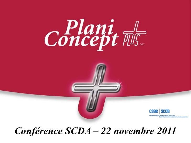 Conférence SCDA – 22 novembre 2011