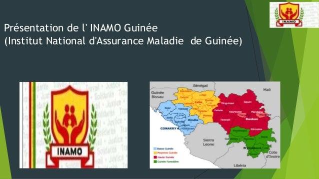 Présentation de l' INAMO Guinée (Institut National d'Assurance Maladie de Guinée)