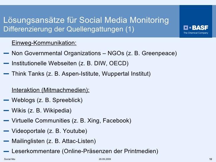 <ul><li>Einweg-Kommunikation: </li></ul><ul><li>Non Governmental Organizations – NGOs (z. B. Greenpeace)  </li></ul><ul><l...