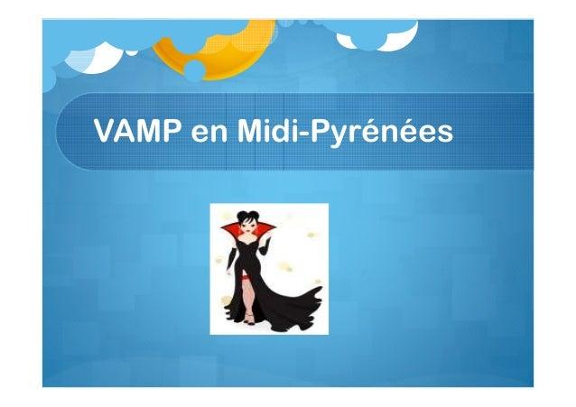 VAMP en Midi-Pyrénées