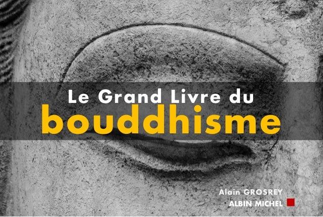 Le Grand Livre du bouddhisme Alain GROSREY ALBIN MICHEL