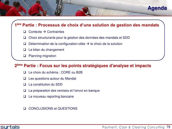 Agenda1ère Partie : Processus de choix d'une solution de gestion des mandats     Contexte  Contraintes     Choix struct...